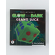 JET CREATIONS 2 Pack Glow In The Dark Giant Dice Inflatables