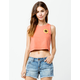 O'NEILL Sunny Womens Crop Tank Top