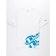 CHAMPION Panel Script White Mens T-Shirt