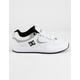 DC SHOES Kalis Lite SE White & Black Mens Shoes