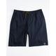 HIPPYTREE Crag Dark Blue Mens Shorts