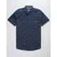 SALTY CREW Market Navy Mens Shirt