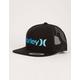 HURLEY One & Only Black Mens Trucker Hat