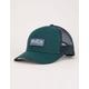 RVCA Ticket II Green Mens Trucker Hat