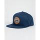 RVCA Navigate Blue Mens Snapback Hat