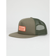 BRIXTON Palmer Olive Mens Trucker Hat