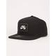 NIKE SB AeroBill Pro Black Mens Snapback Hat