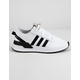 ADIDAS U_Path Run White & Black Boys Shoes