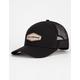 BILLABONG Walled Black & Gray Mens Trucker Hat