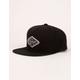 RVCA Script Mens Black Snapback Hat