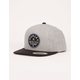 HURLEY Union Gray Mens Snapback Hat