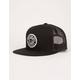BRIXTON Forte Black Mens Trucker Hat