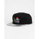 HURLEY Horizon Mens Black Snapback Hat