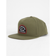 RVCA Contrast Olive Mens Snapback Hat