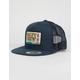 SALTY CREW Point Loma Black Mens Trucker Hat