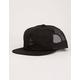 DARK SEAS Bottomry Black Mens Trucker Hat