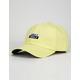 ADIDAS Stacked Forum Ice Yellow Mens Strapback Hat