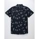 RUSTY Palmer Leaf Mens Shirt