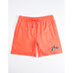RUSTY Trace Orange Mens Volley Shorts