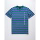 HUF Lexington Blue Mens T-Shirt