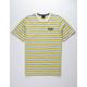 HUF Rockaway Yellow Mens T-Shirt