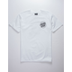 SANTA CRUZ Screaming Skull White Mens T-Shirt
