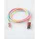 SARINA Rainbow Glitter Lightning Cable