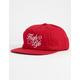 DGK Harvest Red Mens Strapback Hat