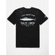 SALTY CREW Wahoo Mount Black Mens T-Shirt