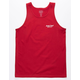 DEATH COAST SUPPLY Bite Red Mens Tank Top