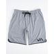 RVCA VA Sport Athletic Heather Gray Mens Shorts