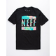 NEFF Trop Till You Drop Mens T-Shirt