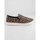 SODA Reign Cheetah Womens Slip-On Shoes