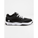 DC SHOES Maswell Black & White Mens Shoes