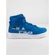FILA FX-100 Print Mens Blue Mens Shoes