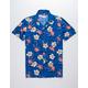 WAVE HOG Flamingos & Flowers Boys Shirt