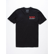 RIOT SOCIETY NASA Embroidery Mens T-Shirt
