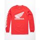 HONDA New Wings Red Mens T-Shirt