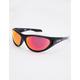 SPY Scoop 2 Black & Checker Fade Polarized Sunglasses