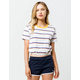 VANS Chromatic White Womens Crop Top