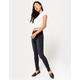 RSQ High Rise Dark Blast Womens Skinny Jeans
