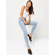 RSQ High Rise Light Wash Womens Skinny Jeans