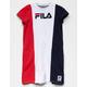 FILA Color Block Girls T-Shirt Dress