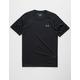 UNDER ARMOUR Tech 2.0 Black Mens T-Shirt