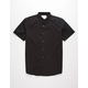 VSTR Pops Stretch Black Mens Button Up Shirt