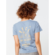 RVCA Rose State Womens Baby Tee