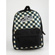 VANS Check Realm Yolk Yellow Backpack