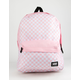 VANS Realm Classic Fairy Tale Checkerboard Backpack