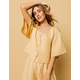 AMUSE SOCIETY Bungalow Latte Womens Top