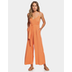 ROXY Wheel And Palms Womens Jumpsuit